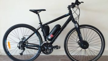 Geotech Trip Cx 5 22th Year City/Tour Bike with Electric
