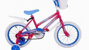 Geotech Twirl 16 Rim Kid Bike Pink