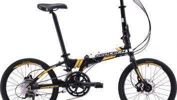 Geotech Fold-Up 20.1 22. Yıl Özel Seri Katlanır Bisikleti