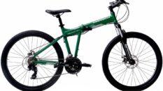 Geotech Fold-Up 26D Katlanır Bisiklet – Mat Yeşil