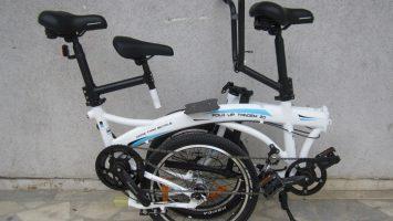Geotech Fold-Up 20 Tandem Katlanır Bisiklet