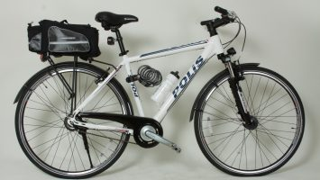 Geotech Göbekten Vitesli Polis Bisikleti