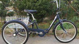Geotech Porter 24 Jant Tricycle Üç Tekerlekli Bisiklet