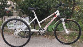 Geotech Road 28 Jant Tricycle Üç Tekerlekli Bisiklet