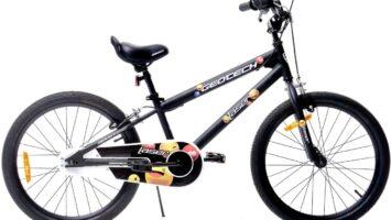 Geotech Laser V-Fren 20 Jant Çocuk Bisikleti – Siyah